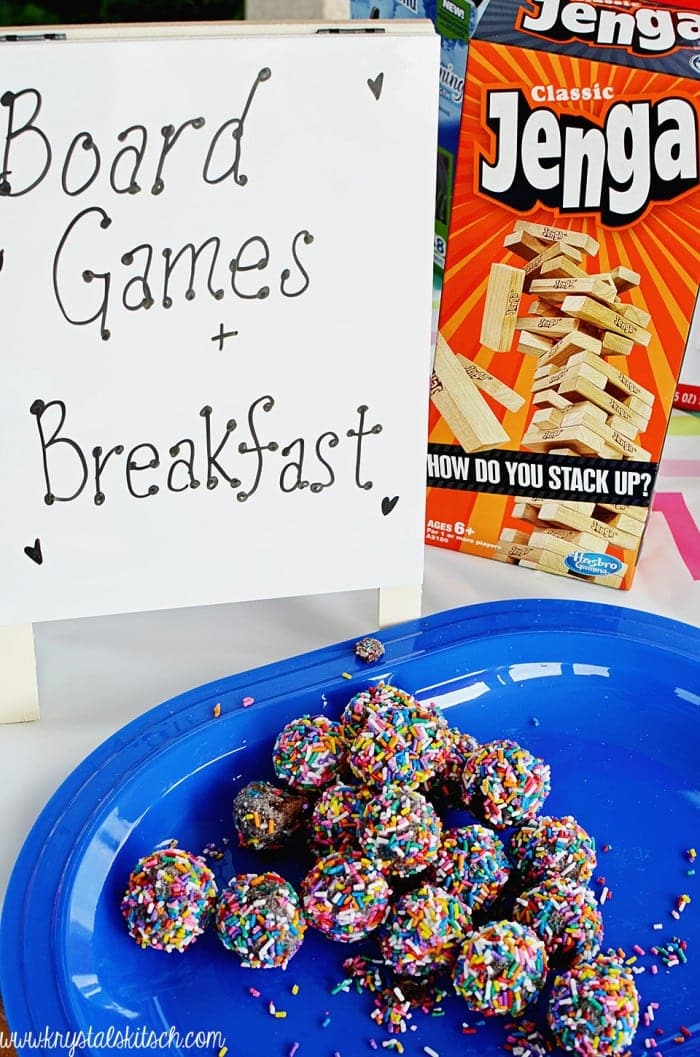 Board Games and Breakfast