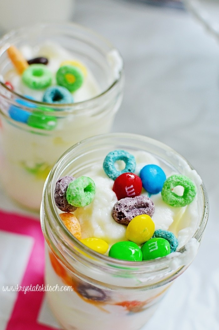 Cereal Yogurt Parfait Recipe