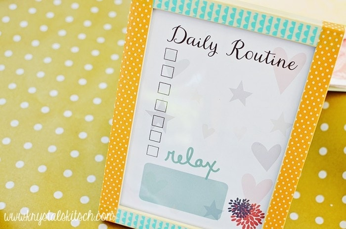 Daily Routine Printable