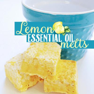 Lemon Essential Oil Shower Melts