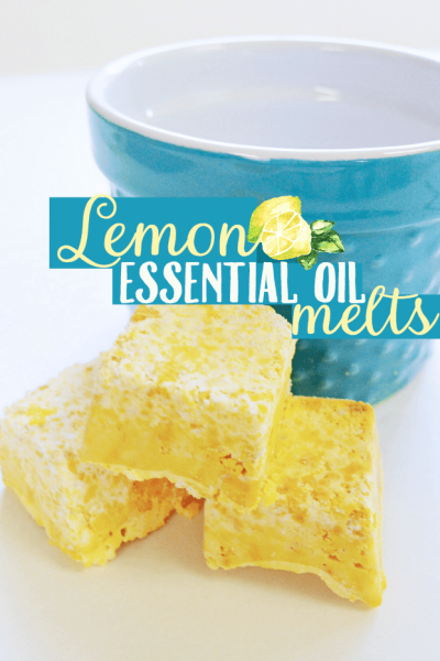 Lemon Essential Oil Melts