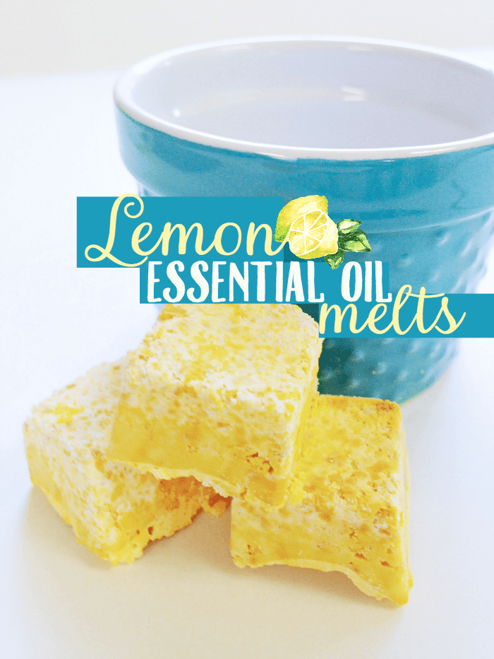 Lemon Essential Oil Melts