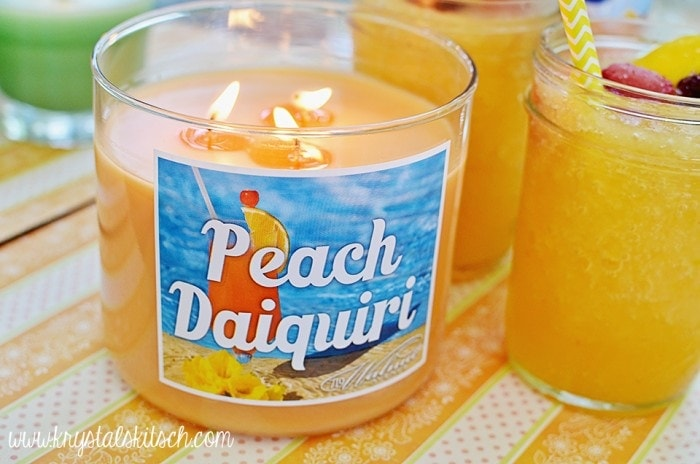 Peach Daiquiri Candle