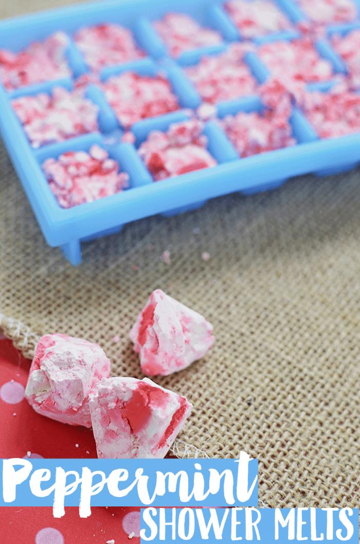 Peppermint Shower Melt Recipe