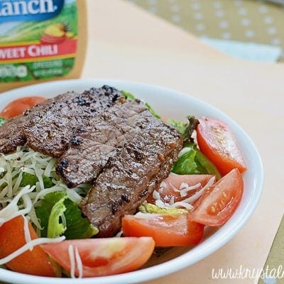 Steak Fajita Salad Recipe