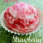 Sweet Strawberry Play Dough Recipe