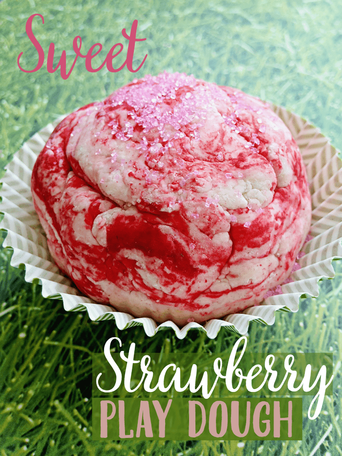 Strawberry Play Dough Recipe