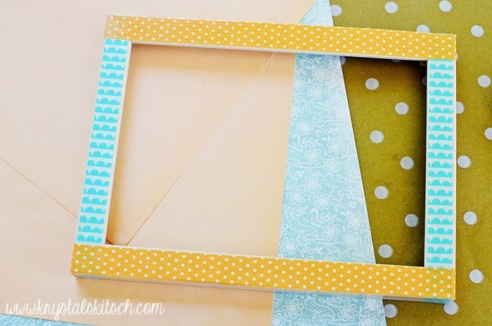 Washi Tape Picture Frame