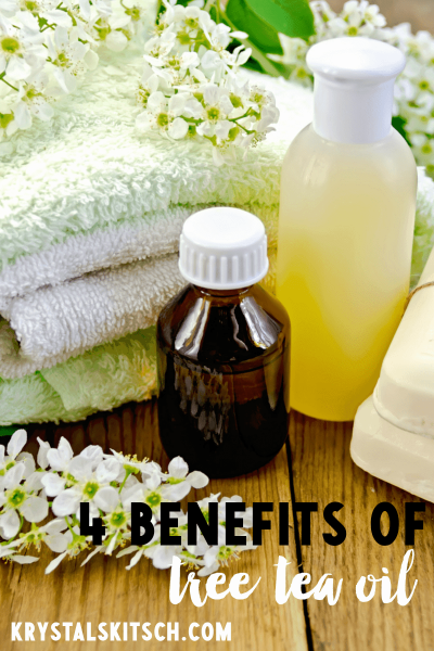 4 Benefits of Tea Tree Oil