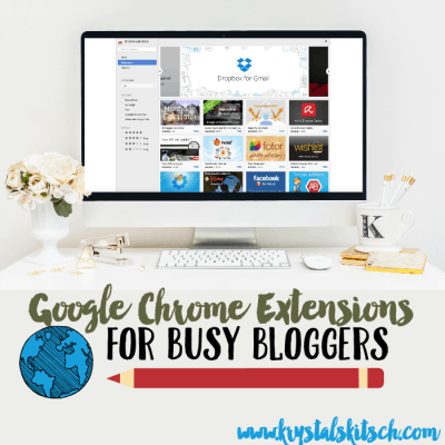 Google Chrome Extensions for Busy Bloggers