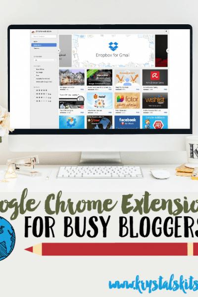 Google Chrome For Bloggers