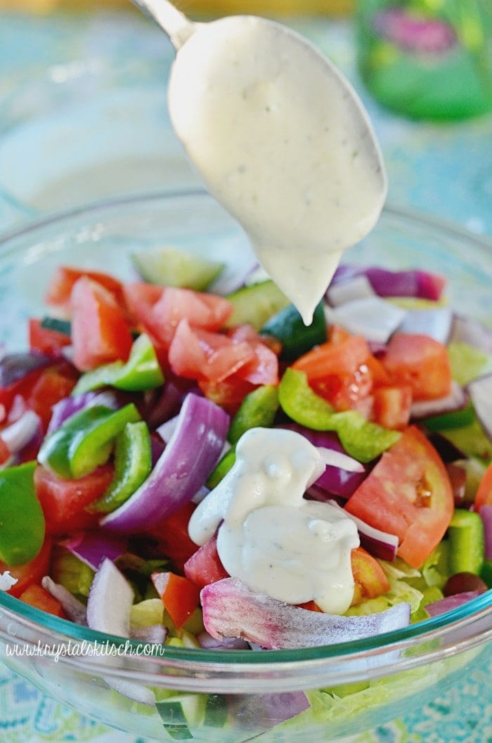 Greek Yogurt Dressing