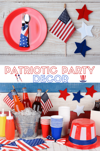 Patriotic Party Decor: July 4th Party Decor