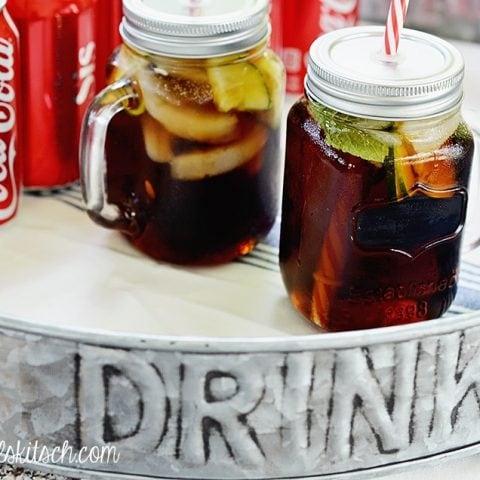 Mint Rum and Coke