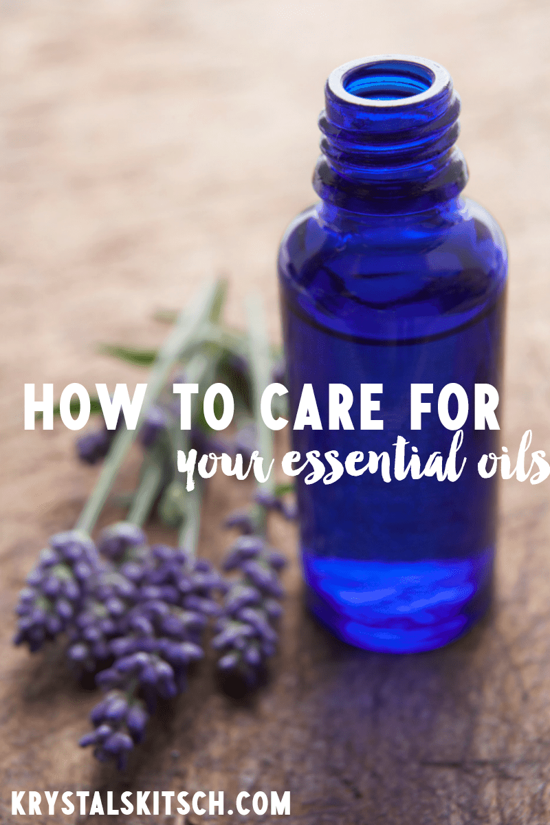 6 Tips for Care of Your Essential Oils