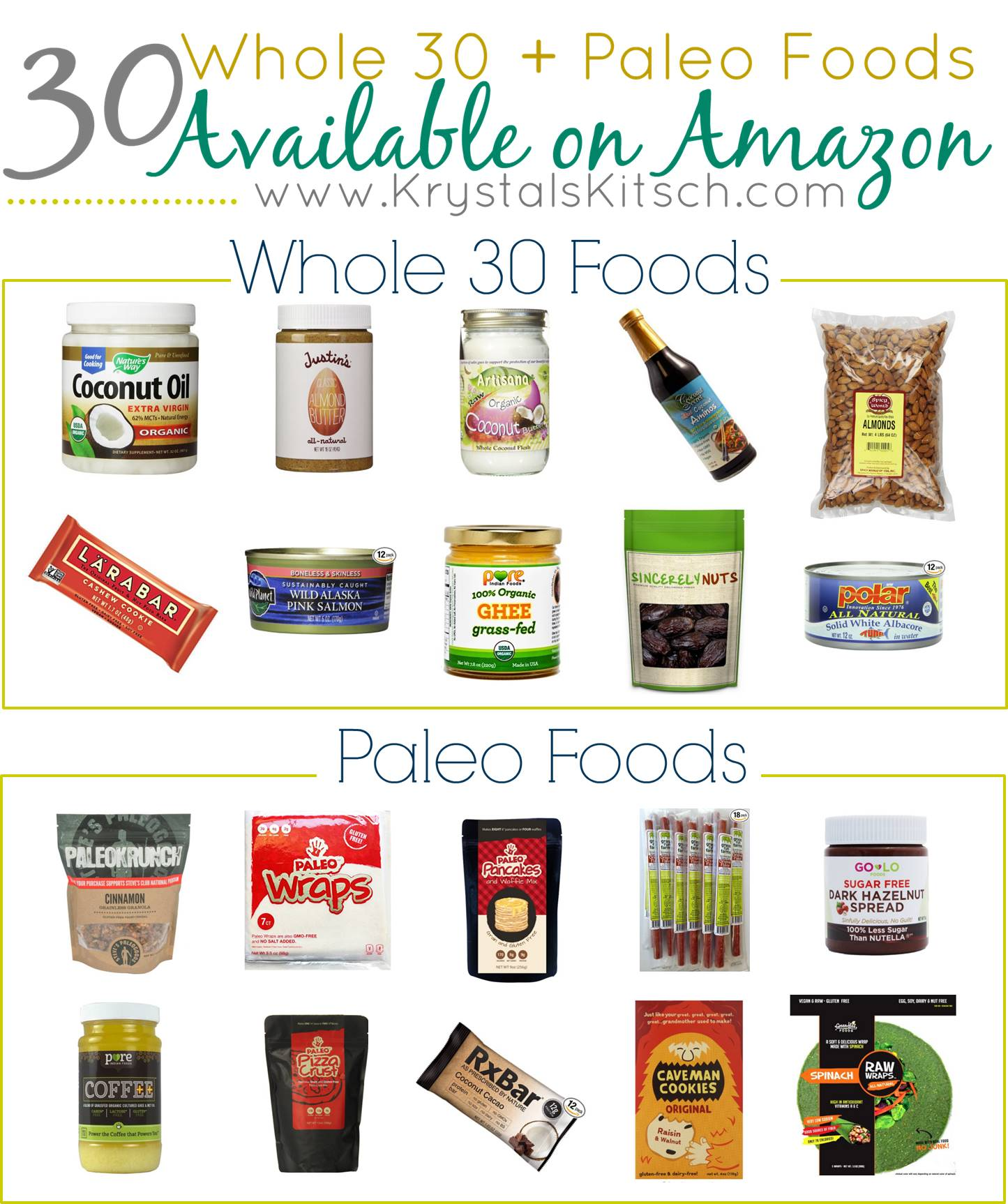 Whole 30 Meal Plan Ideas