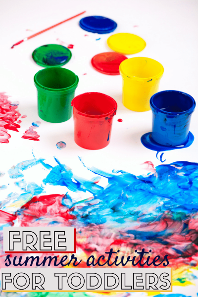 Free Toddler Activities