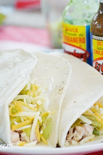 Spicy Seafood Tacos With El Yucateco Hot Sauce