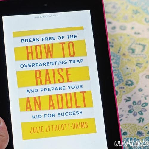 How to Raise an Adult Book Review