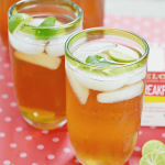 Minty Key Lime Iced Tea