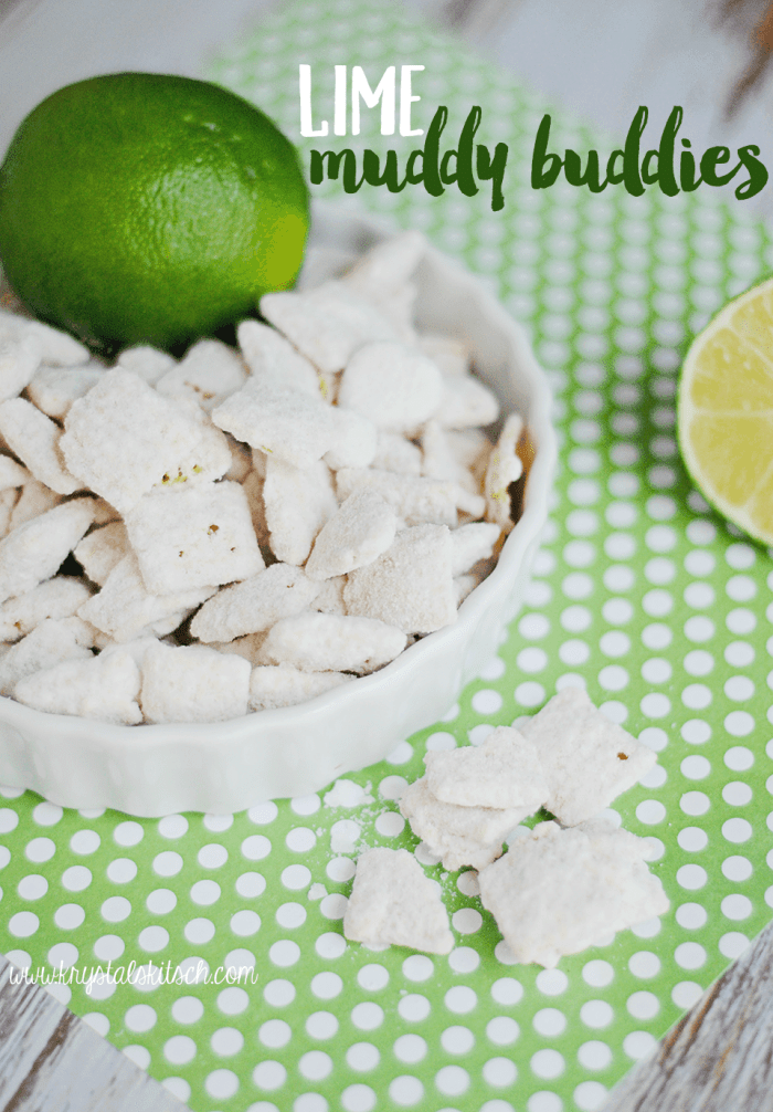Lime Muddy Buddies