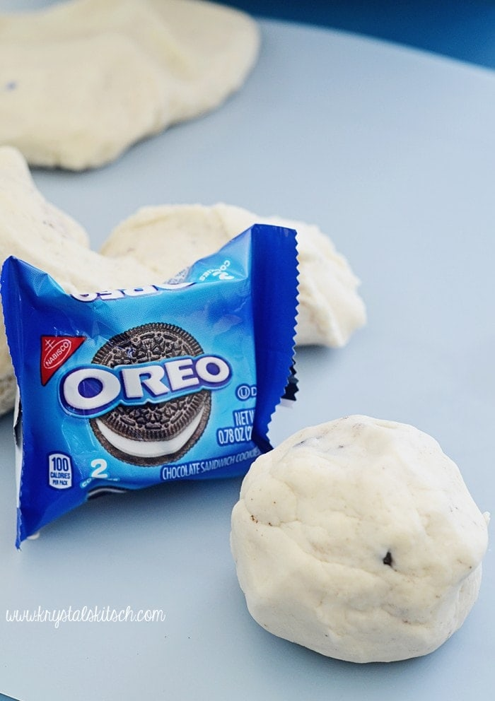 Oreo Cookie Play Dough