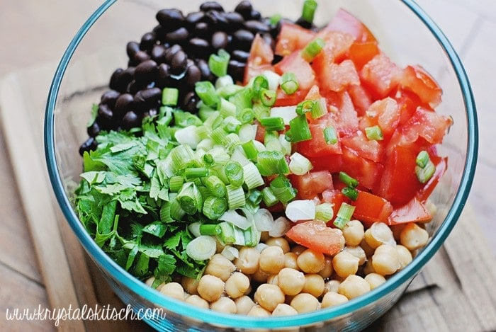 Southwest Bean Salad Recipe