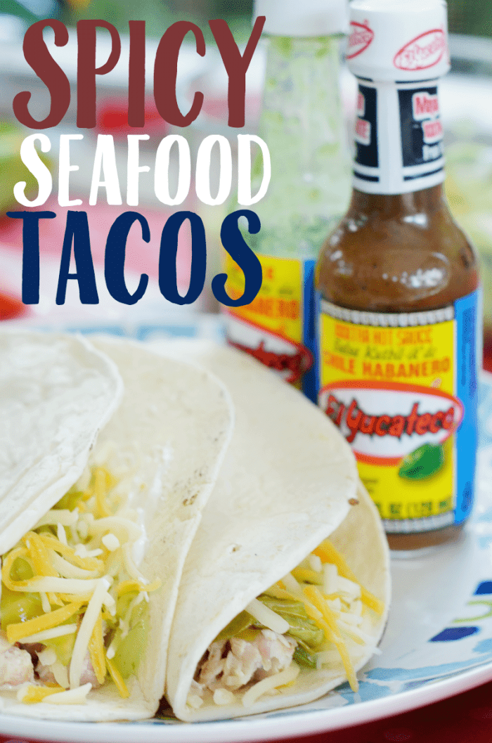 Spicy Seafood Tacos
