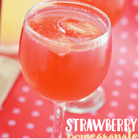 Strawberry Pomegranate Lemonade