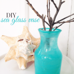 DIY Sea Glass Decor