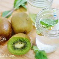 Kiwi Mint Infused Water