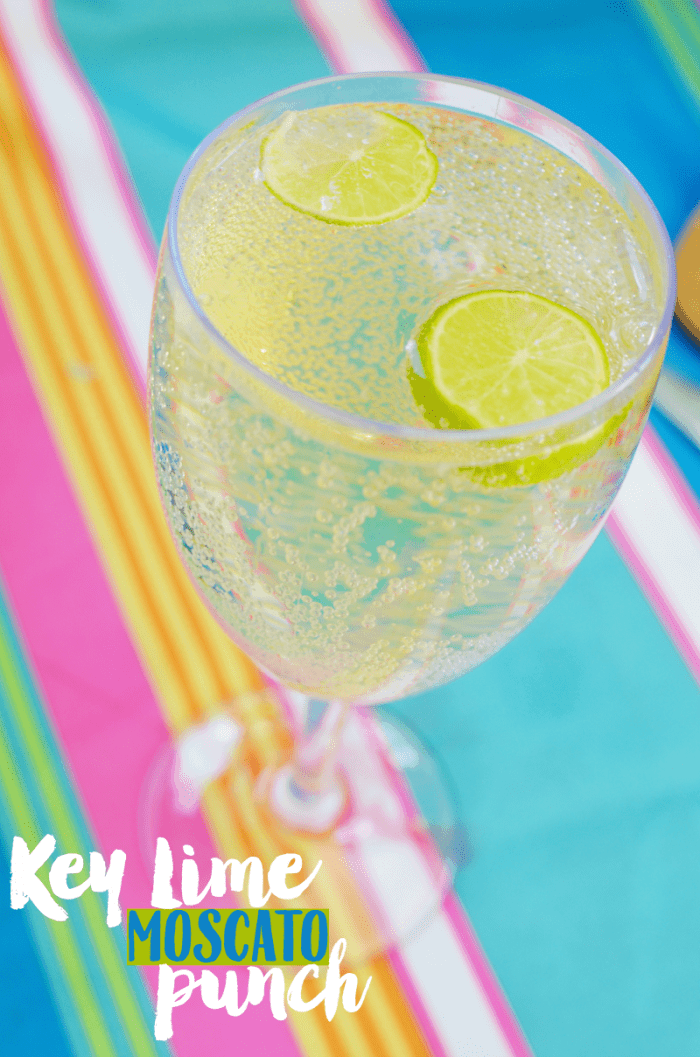 Key Lime Moscato Punch