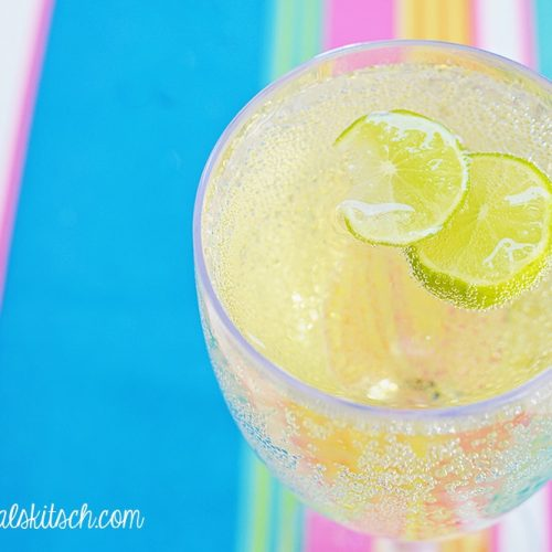 Lime Moscato Punch