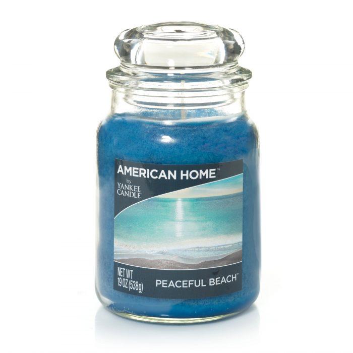 Peaceful Beach - Large Jar Candle