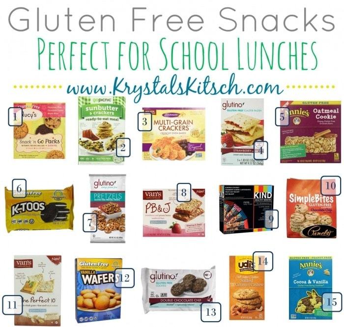 7.16 Amazon Round Up Back to School GLUTEN FREE Snacks KRYSTALSKITSCH