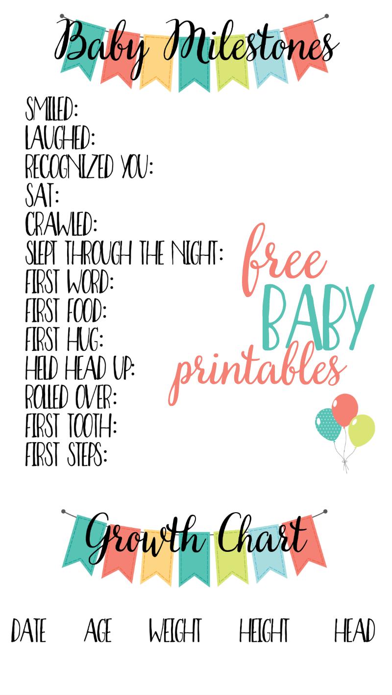 Free Baby Printables