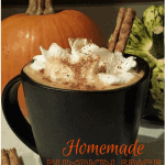 Homemade Pumpkin Spice Latte