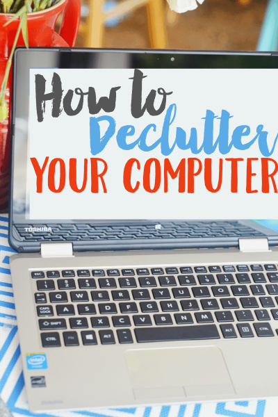 How to Declutter Your Computer