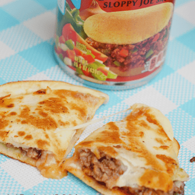 Manwich Sloppy Joe Quesadilla