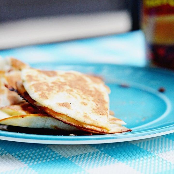 Manwich Sloppy Joe Quesadilla