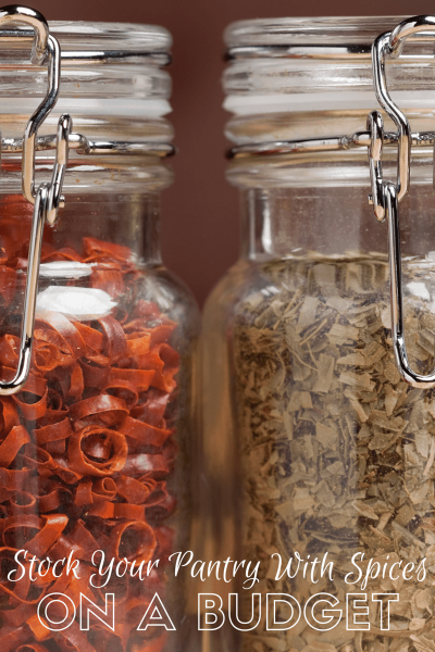 Stock Your Pantry With Spices On a Budget