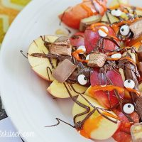 Chocolate Apple Slices For Fall: Fruit Nachos