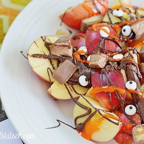 Apple Dessert Nachos