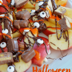 "Halloween Desserts: Apple ""Nachos"""