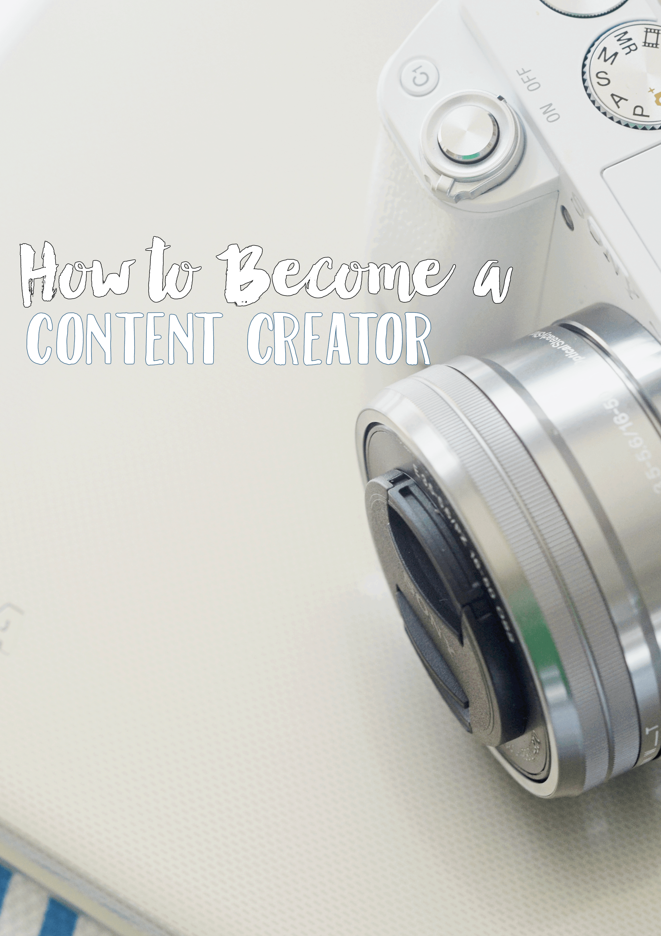 How to Become a Content Creator