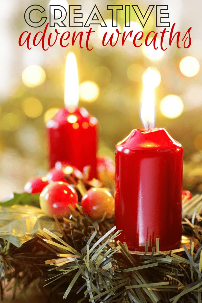 Creative Advent Wreaths