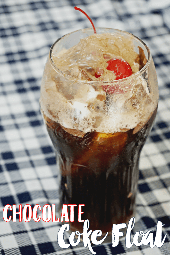 Cherry Coke Float