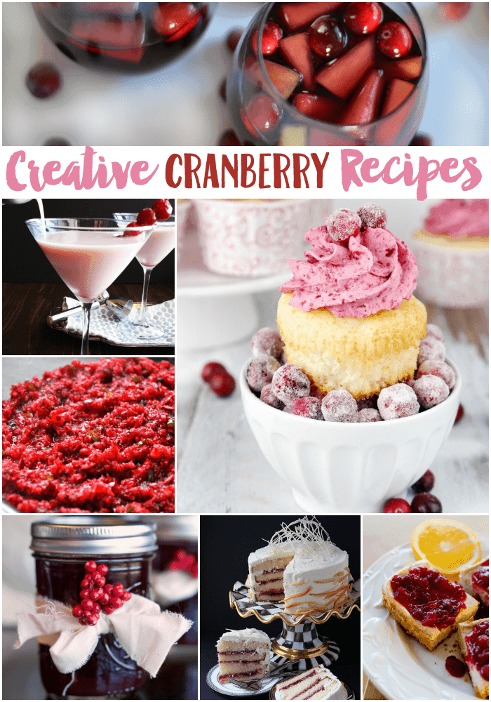 Creative Cranberry Recipes