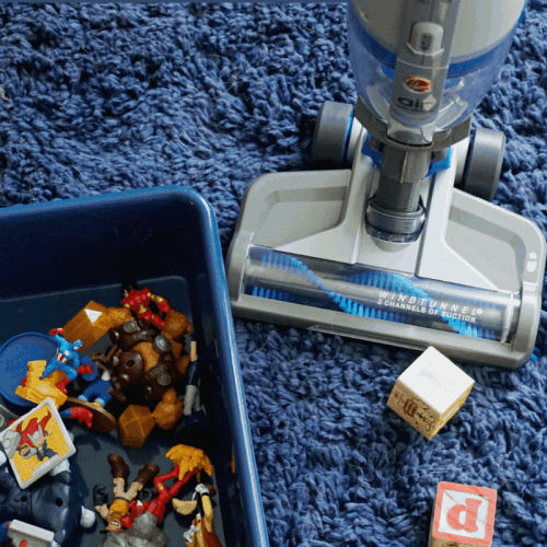 How to Clean Up Your Playroom