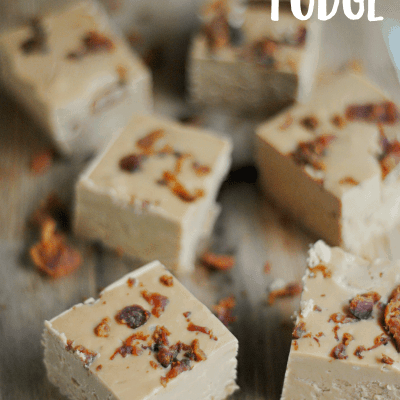 Maple Bacon Fudge